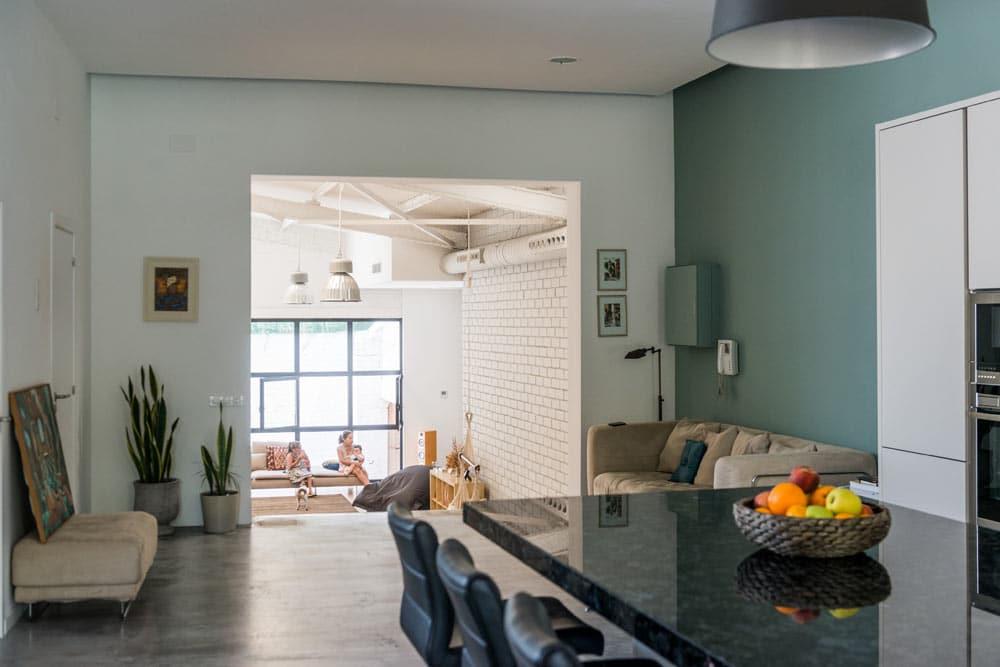 Loft en barcelona con reforma integral decorar mi casa for Loft reformas