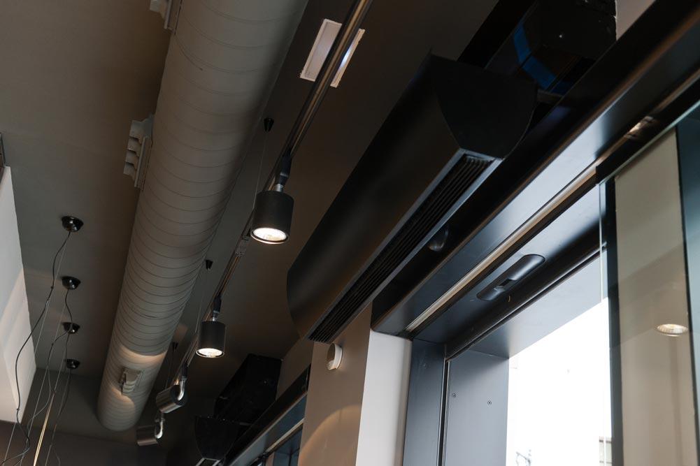 Sistema de climatización por conductos