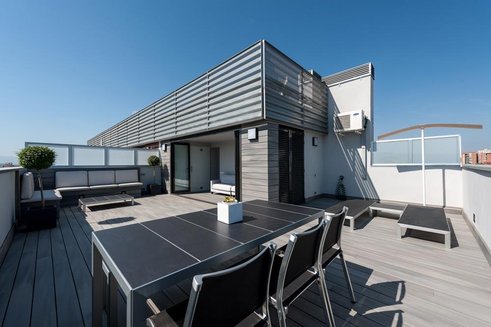 Proyecto de interiorismo y rehabilitación de terraza.
