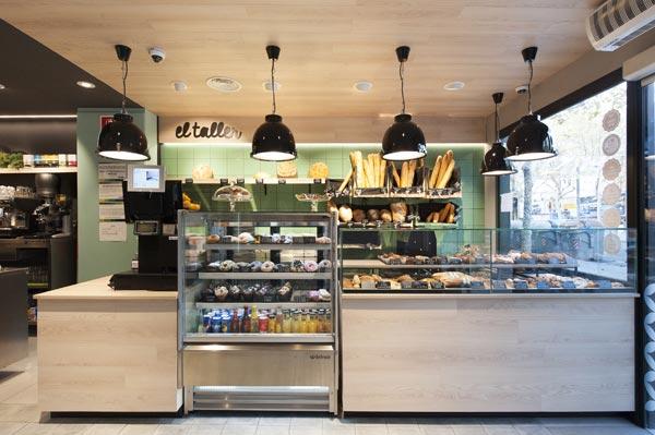 Reforma cafetería El Taller Paral·lel