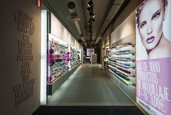 Reforma perfumería y cosmética Beautik