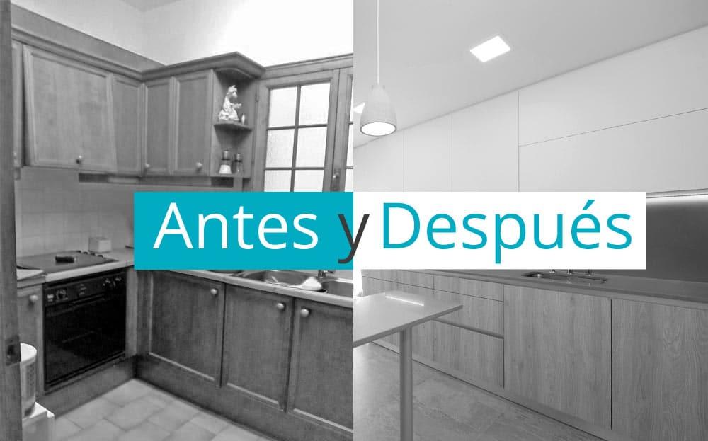Sorprendentes 17 antes y después de pisos reformados por Sincro