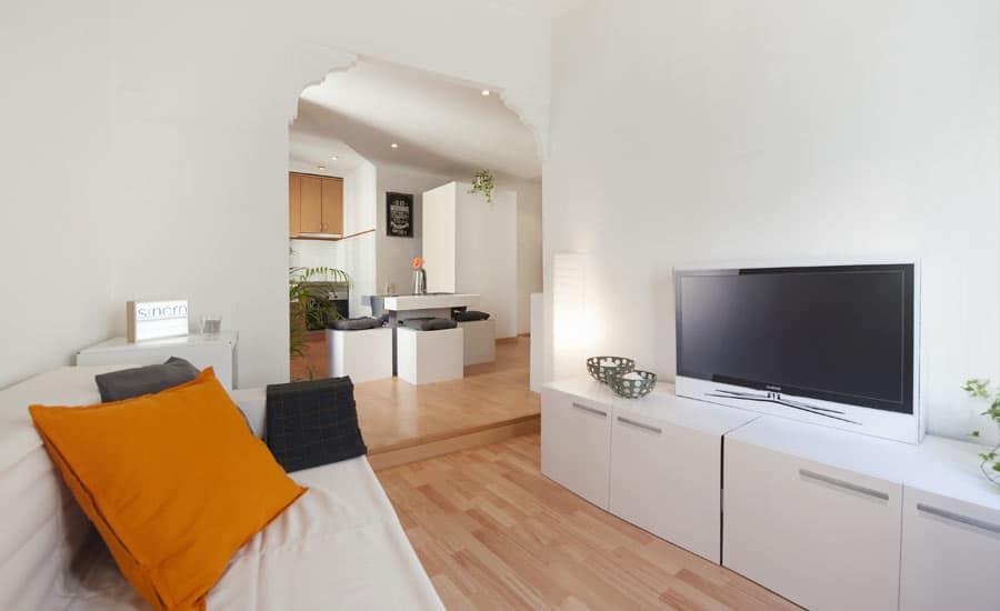 Muebles de cartón para Home Staging