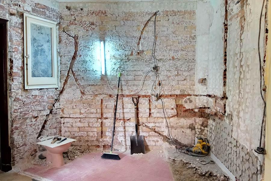 Fases a seguir en les obres d'una reforma de pis o casa