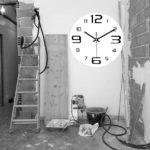 reloj horario obras de reforma por ruido en Barcelona
