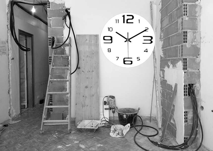 ¿Cuál es el horario para hacer obras en casa?