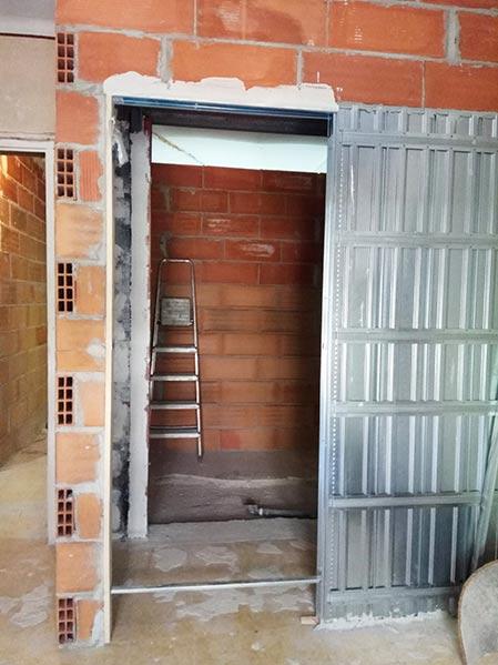 Puertas correderas empotradas al tabique sincro - Puertas correderas casoneto ...