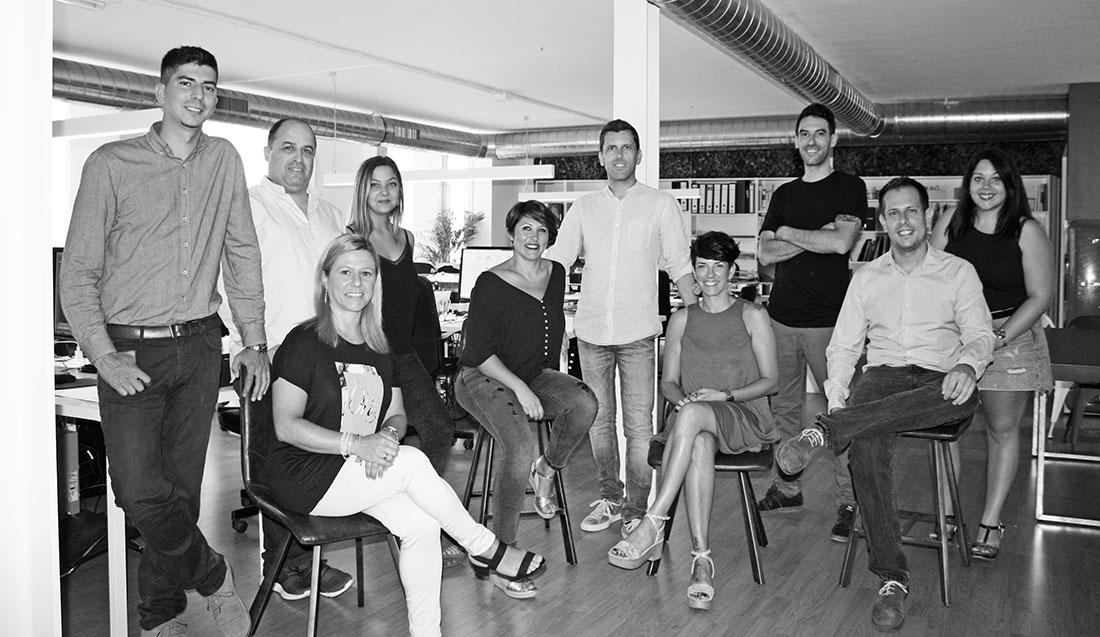 Equipo humano Sincro: interioristas, supervisores de obra, arquitectos, decoradores...