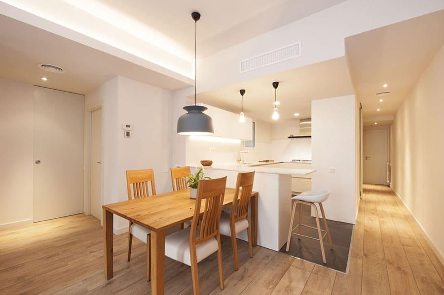 Iluminación para interiores de viviendas