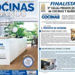 """Finalistas """"Proyecto de reforma"""" premios Cocinas y Baños 2017. Sincro"""