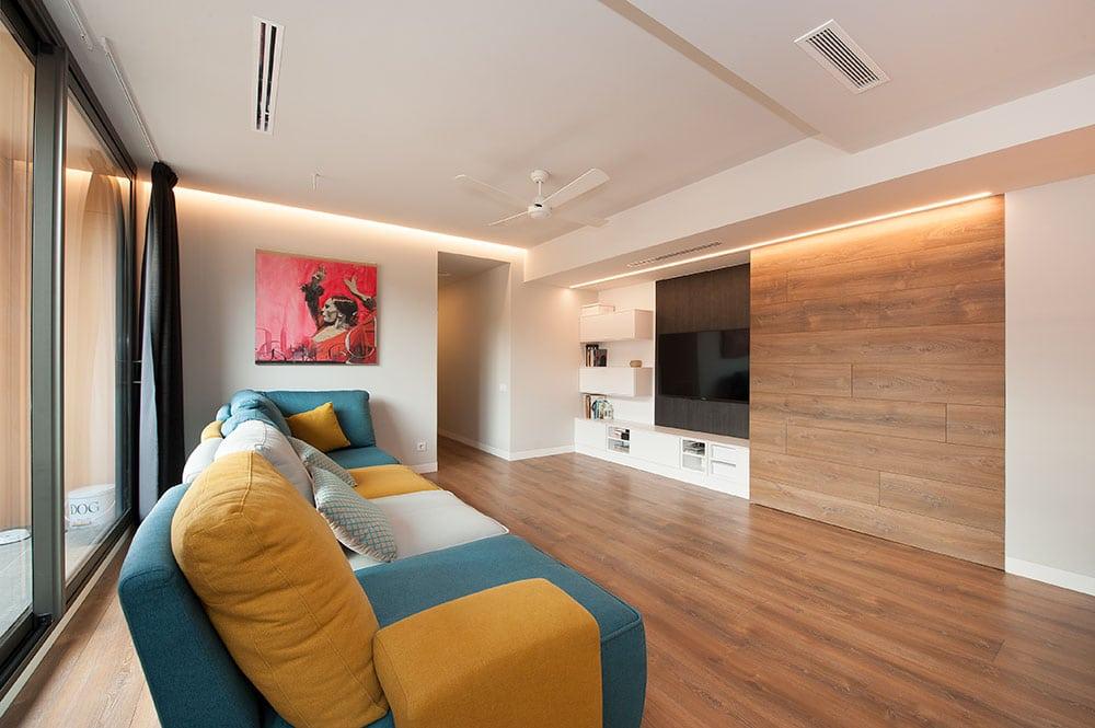 sofá modular Gamamobel de la colección Siros