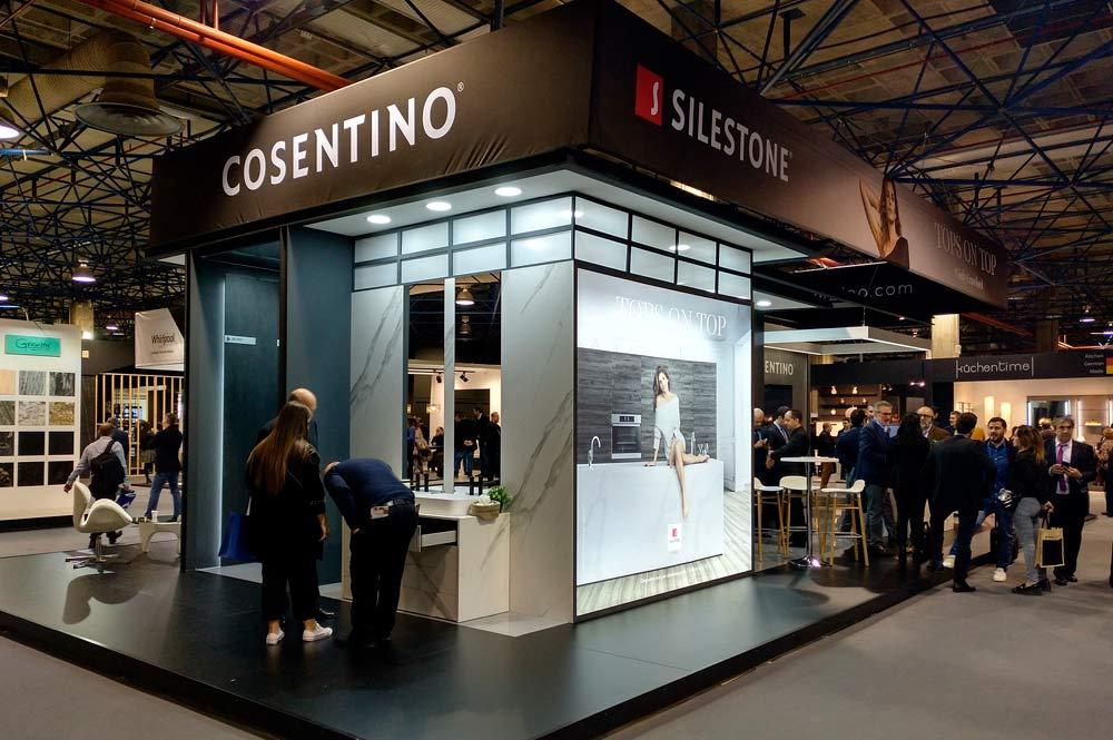 Stand Silestoni Cosetino Cevisama 2019