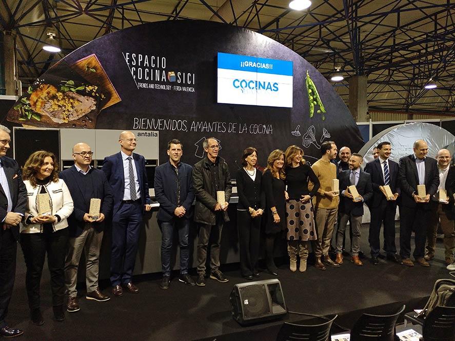 Entrega de premios de la Revista Cocinas y Baños (Espacio Cocina SICI y CEVISAMA)