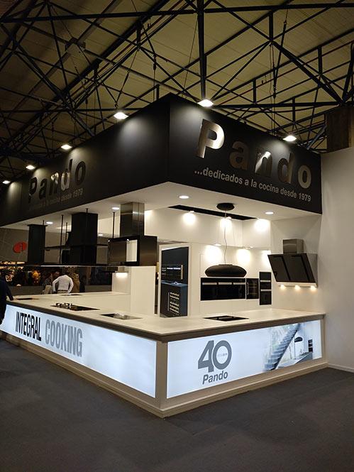 Stand de Pando en Espacio Cocina SICI Valencia 2019