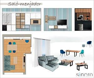 Banner projecte de mobiliari i decoració sincro