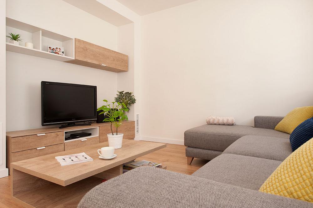 Muebles zona de tv del salón