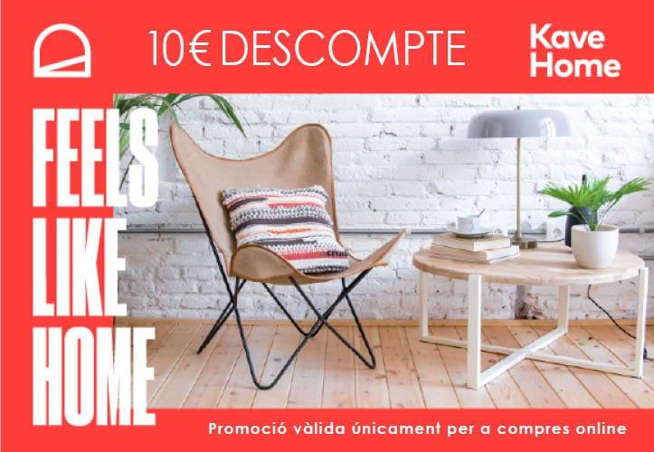 10€ de descuento Kave Home