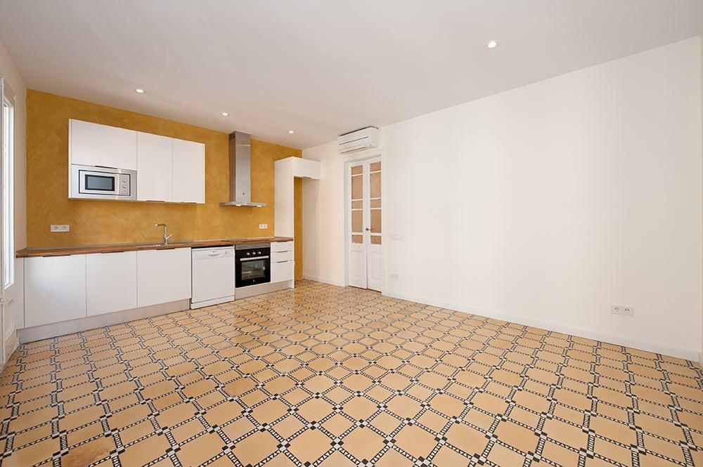 piso rehabilitado para alquilar en Barcelona