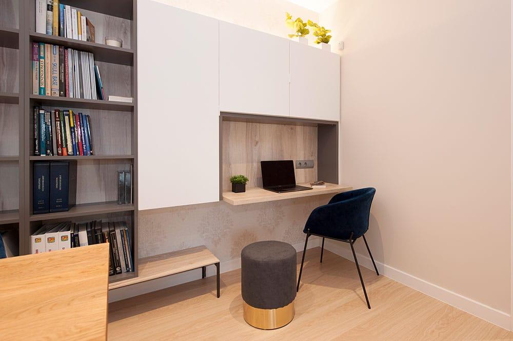 Zona de despacho integrado en mueble de salón - Sincro