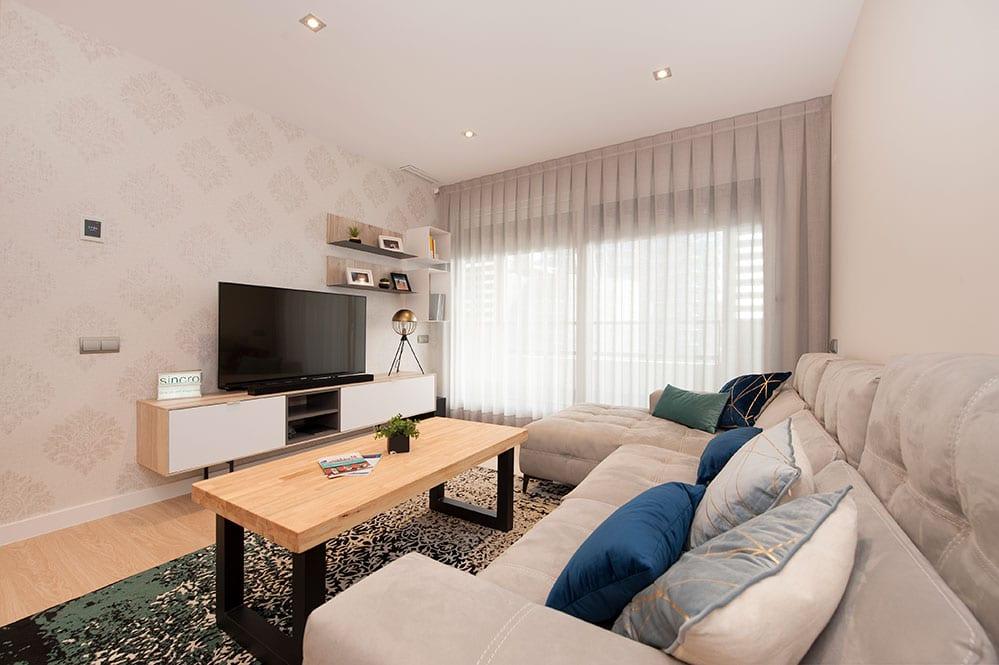 Mueble Tv de la firma Tegar Mobel - Proyecto mobiliario Sincro