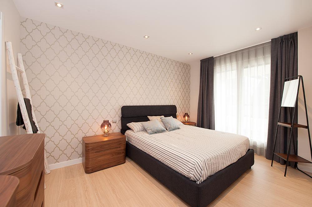 Mobiliario dormitorio principal Mobenia - Proyecto mobiliario Sincro