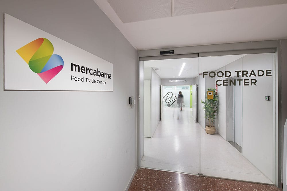 Acceso Mercabarna Food Trade Center