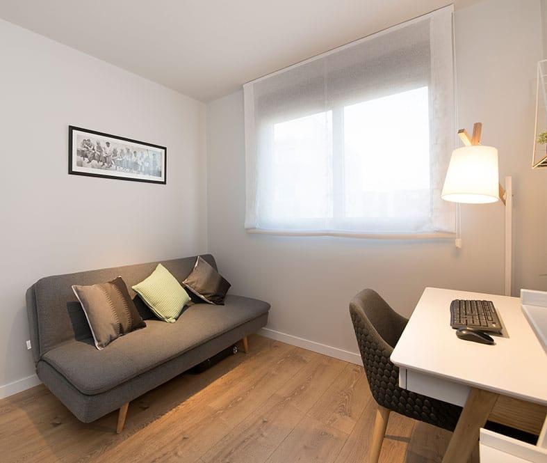 Habitación invitados y despacho