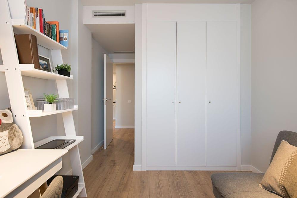 Armario empotrado despacho dormitorio de invitados