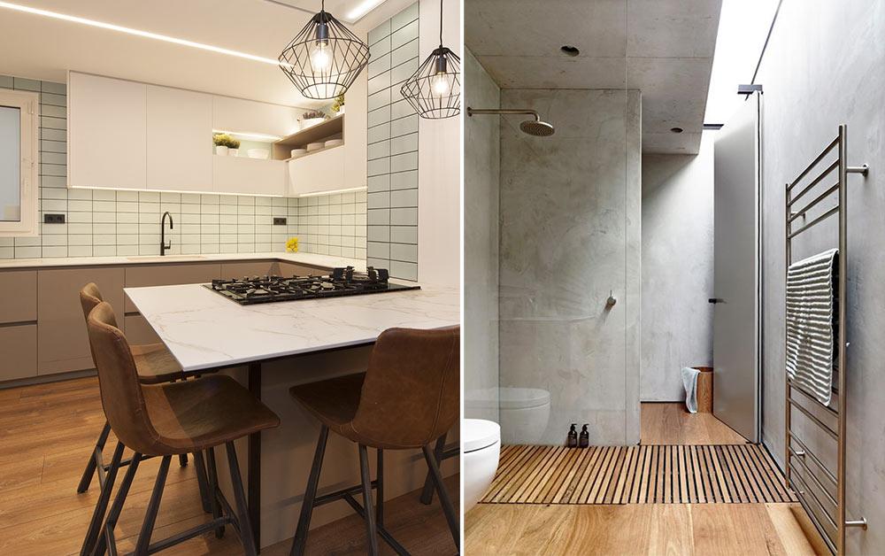 Parquet per a la cuina i el bany, sí o no?