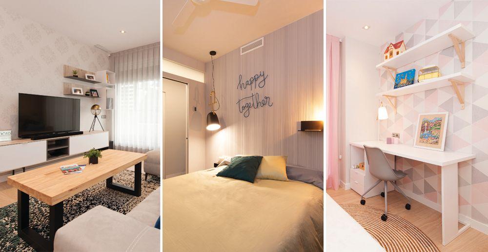 Paper pintat per a la decoració d'interiors en habitatges